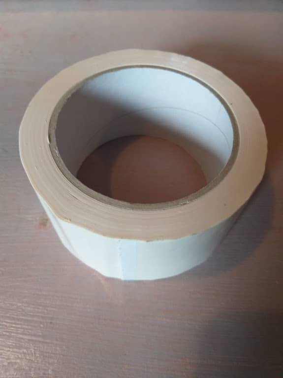 PVC ragasztószalag fehér